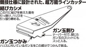 ヤイバラインカッター4 バトルスタイル(グレープ)