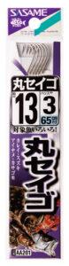 丸セイゴ(白)(黒)糸付