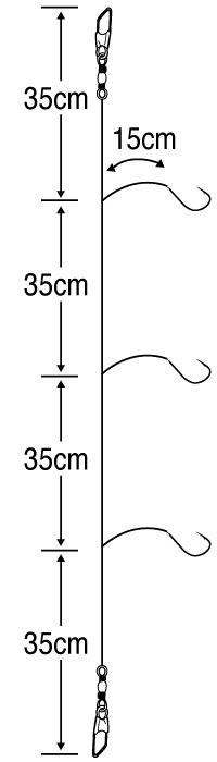 さぐりメバル胴突15cm3セット