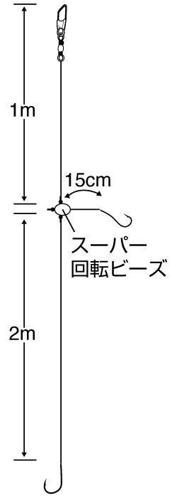 万能カゴ釣り五目3m